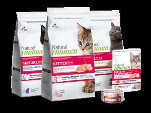 New Pet Food - Novafoods Natural Trainer gatto