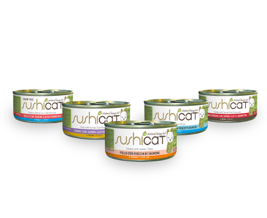 New Pet Food - Novafoods Sushi Cat