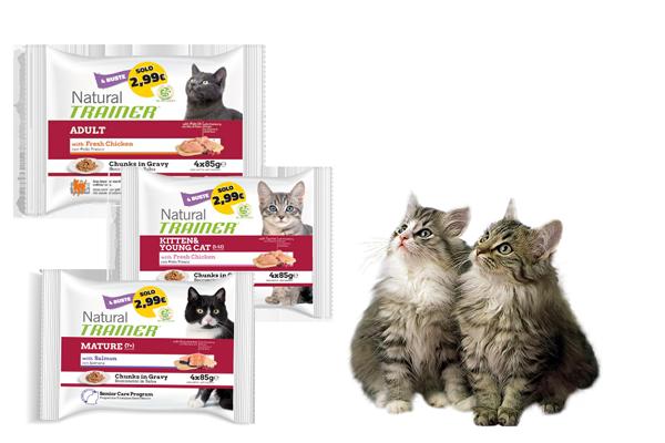 confezione multipack trainer gatto