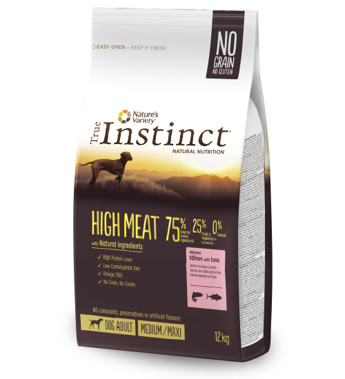 New Pet Food - True-Instinct - High Meat