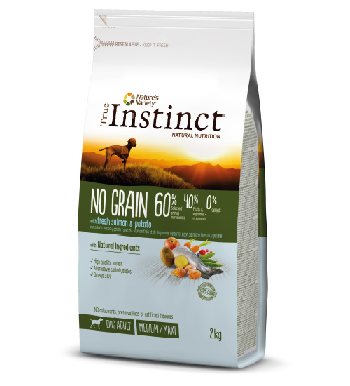 New Pet Food - True-Instinct - No Grain