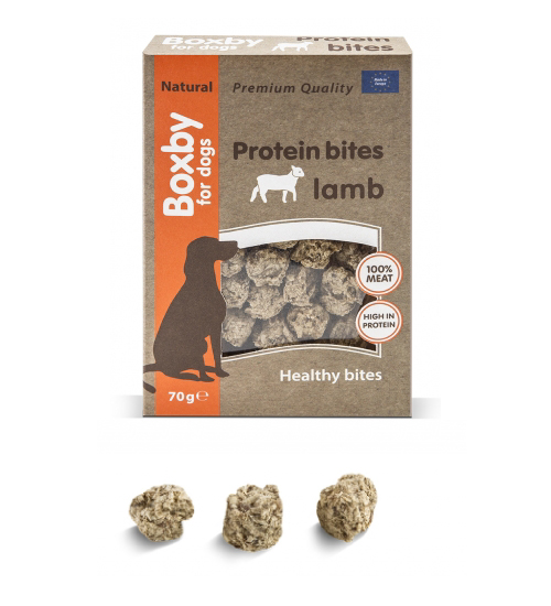 New Pet Food - Boxby Protein bites