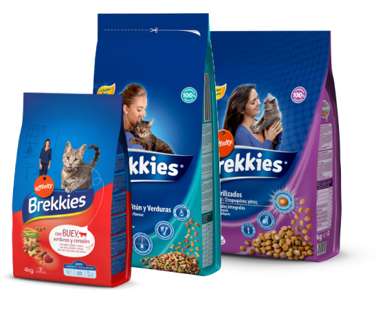 New Pet Food - Brekkies gatto