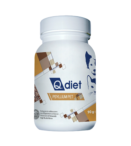 New Pet Food - Q.diet Psyllium-Pet