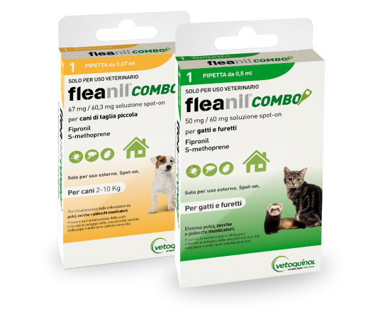 New Pet Food - Fleanil Combo