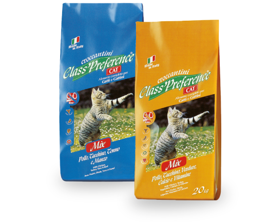 New Pet Food - Preference Gatto